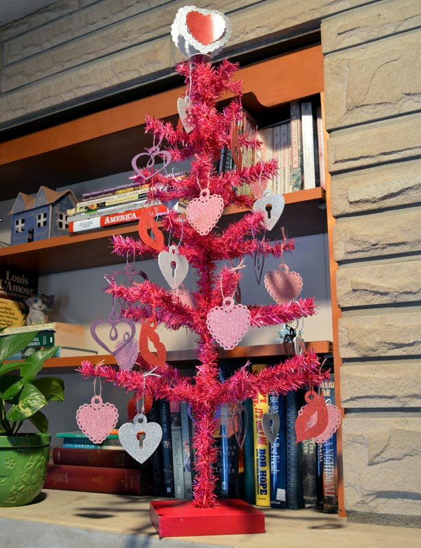 This is a Valentine tree!
